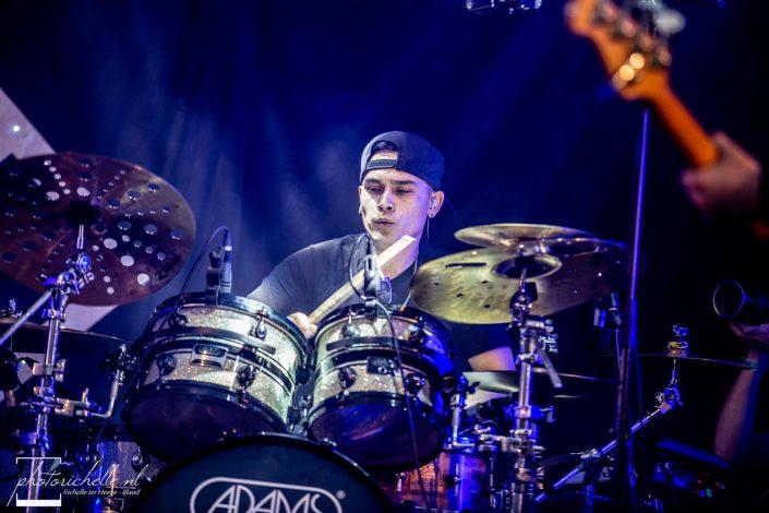 Drummer Rick van Wort